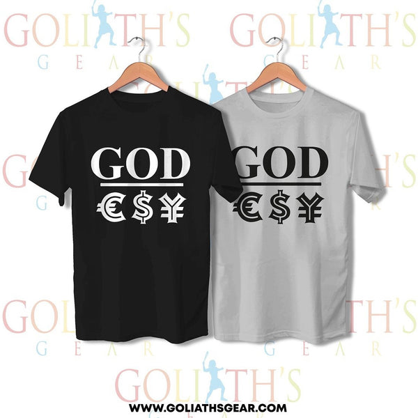 God over money T-shirt