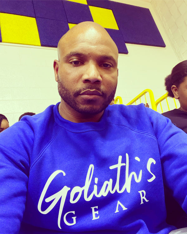 Goliath's Gear Signature Font Sweater