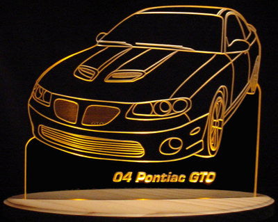 2004 Pontiac GTO (Desk Sign/Plaque)
