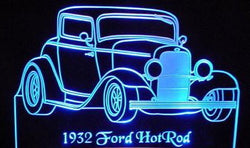1932 Ford Hot Rod (Desk Sign/Plaque)