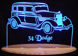 1934 Dodge (Desk Sign/Plaque)