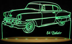 1954 Chevrolet Bel Air (Desk Sign/Plaque)