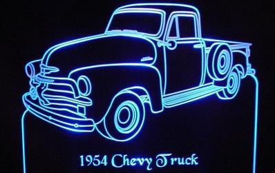 1954 Chevy Pickup (Desk Sign/Plaque)