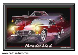 '56 Thunderbird LED art