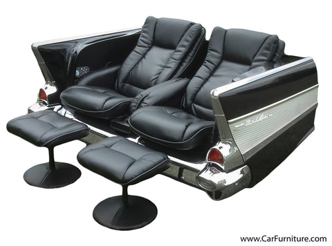 1957 Dual Massage Sofa (Chevy) – CarFurniture.com