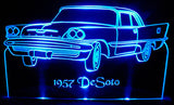 1957 Dodge Desoto (Desk Sign/Plaque)