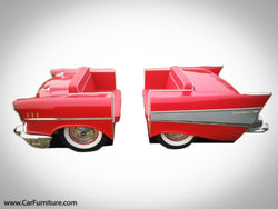 '57 Chevy Front and Rear Booth Set