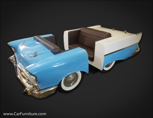 '57 Chevy 210 Front and Rear Booth Set