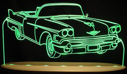1958 Cadillac Convertible (Desk Sign/Plaque)