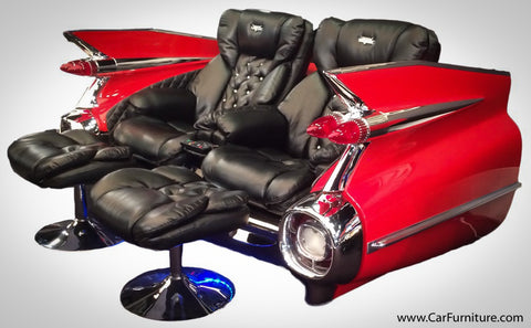 1959-Cadillac-Red-Rear-End-Couch-Recliner-www.CarFurniture.com.