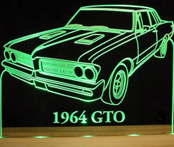 1964 Pontiac GTO (Desk Sign/Plaque)