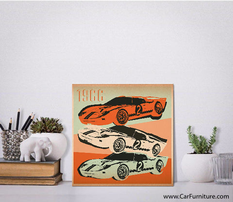 1966 GT Canvas Art