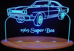 1969 Dodge Super Bee (Desk Sign/Plaque)
