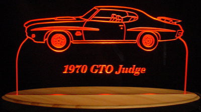 1970 Pontiac GTO Judge (Desk Sign/Plaque)