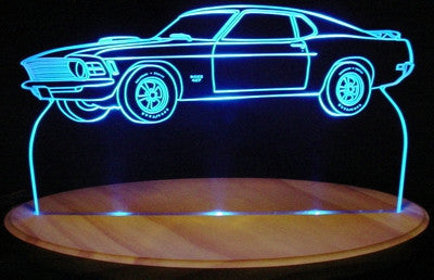 1970 Ford Mustang Mach 1 (Desk Sign/Plaque)