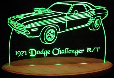 1971 Dodge Challenger R/T (Desk Sign/Plaque)