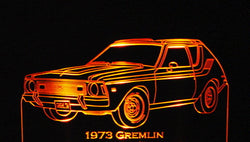 1973 AMC Gremlin (Desk Sign/Plaque)
