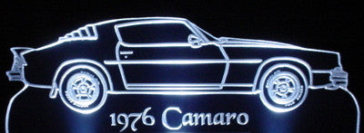 1976 Chevy Camaro (Desk Sign/Plaque)