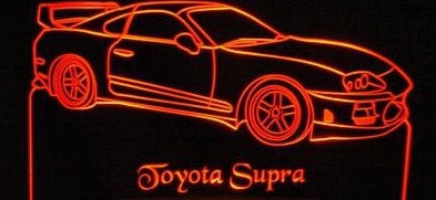 1995 Toyota Supra (Desk Sign/Plaque)