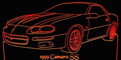 1999 Chevy Camaro Hugger (Desk Sign/Plaque)