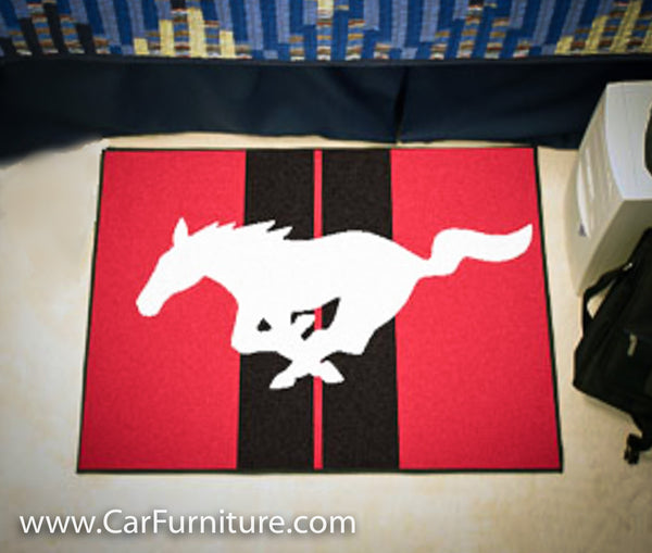 MUSTANG RUG 19X30 INCHES