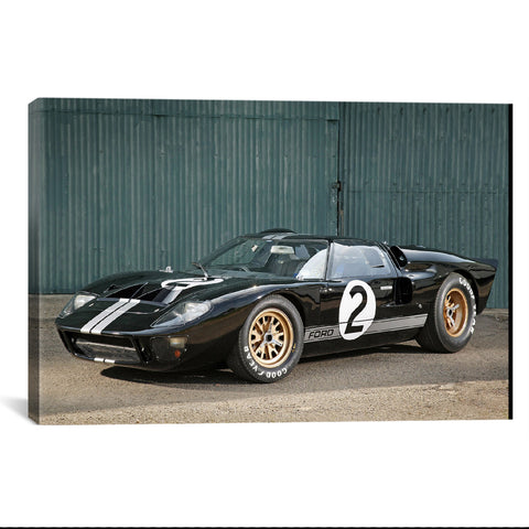 1966 Ford GT40 Le Mans Race Car