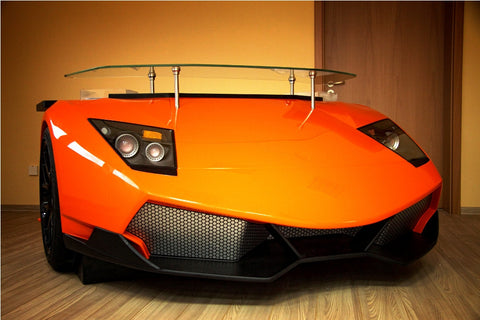 Lamborghini Racing Desk - Orange