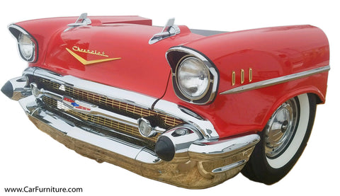 57-Red-Chevy-Car-Front-Desk-www.CarFurniture.com
