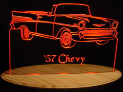 1957 Chevy Convertible (Desk Sign/Plaque)