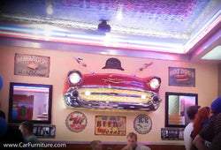 1957 Chevy Front End Wall Hanging