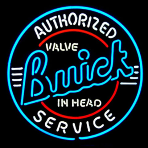 GM Buick Service Neon Sign