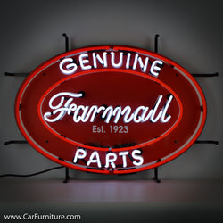 Farmall Oval Neon Sign