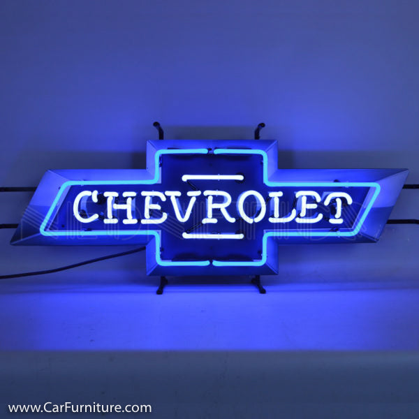 Chevrolet Neon Sign with Backing