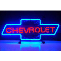 GM Cheverolet Bowtie Neon Sign