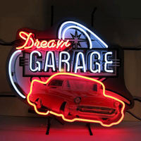 Dream Garage '57 Chevy Neon Sign