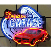 Dream Garage GM GTO Neon Sign