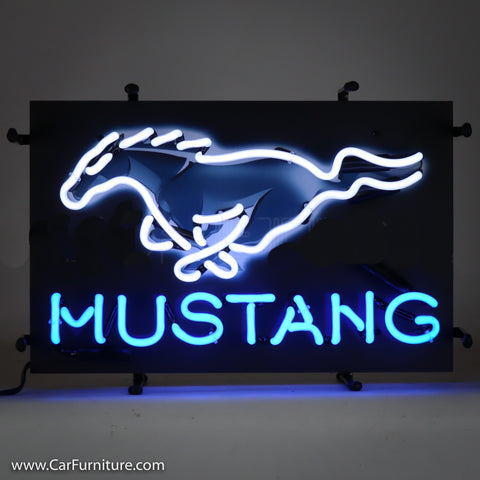 Ford Mustang Small Neon Sign