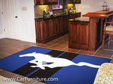 Ford Mustang 5x8' Rug