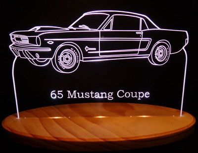 1965 Mustang Coupe (Desk Sign/Plaque)