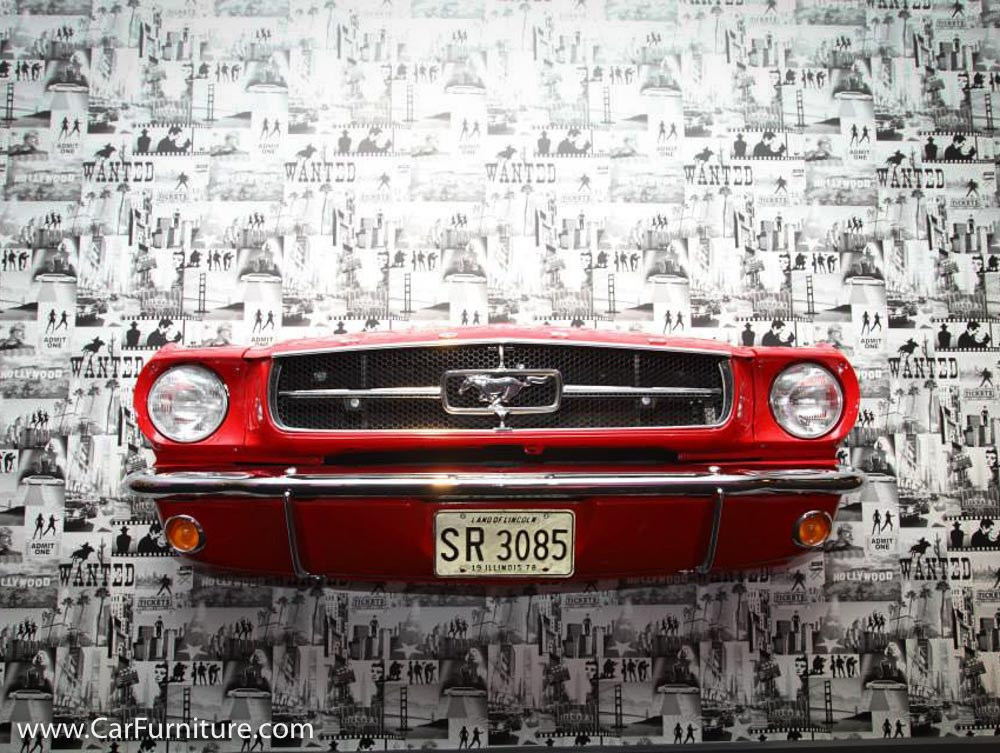 65 Mustang Front End Wall Hanging Carfurniture Com
