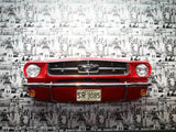 '65 Mustang Front End Wall Hanging