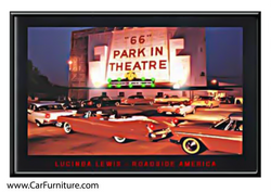 '66 Park-In Theatre LED art