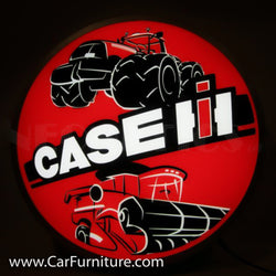Case IH Tractors Backlit LED Lighted Sign