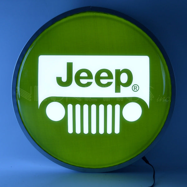 Jeep Backlit LED Lighted Sign