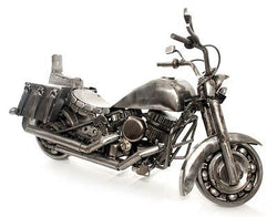 Real Car Part Created Adventurer Motorcycle