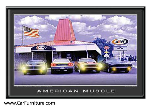American Muscle (LED ART)