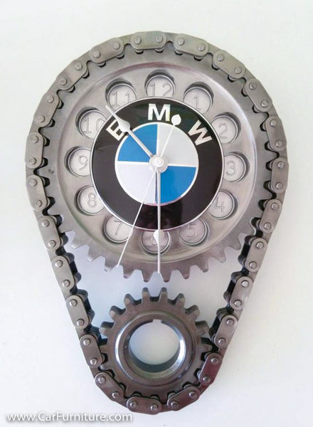 BMW Engine Timing Gear and Chain Wall Clock