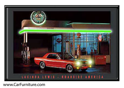 Billy's Service Station (LED ART)
