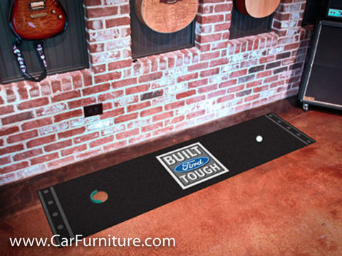 "Built Ford Tough 18x72"" Putting Mat"