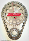Red-Chevrolet-Camaro-SS-Logo-Engine-Timing-Gear-Wall-Clock-www.CarFurniture.com